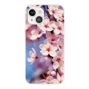 iPhone 13 Super Slim Gummi Schutzhülle Blüten