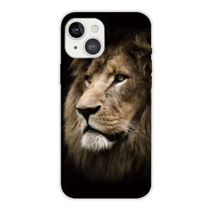 iPhone 13 Super Slim Gummi Schutzhülle Löwe