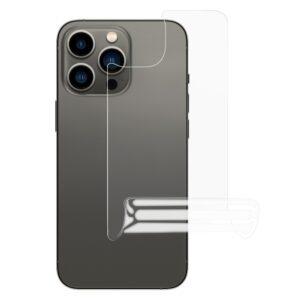 iPhone 13 Pro Max Rückseiten Hydrogel Schutzfolie